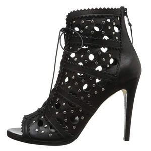Stuart Weitzman Shoes - Stuart Weitzman Lace Up Booties Cagey High Heels